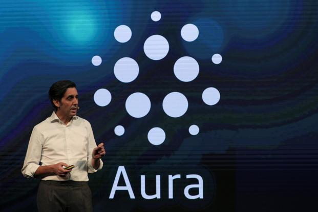 The telecom carrier is set to release Aura in six countries, a key plank of chief executive officer Jose Maria Alvarez-Pallete's data-focused strategy. Photo: Reuters