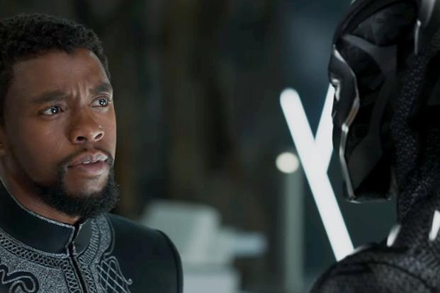 A still of 'Black Panther'.