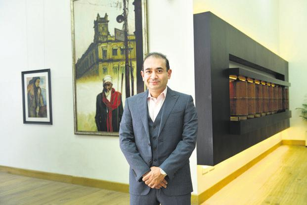 The income tax department first raided Nirav Modi in January last year on charges of alleged tax evasion. Photo: Aniruddha Chowdhury/Mint