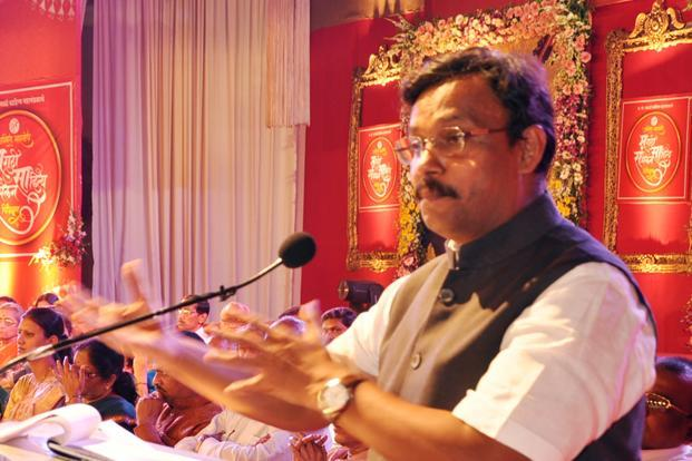A file photo of Maharashtra education minister Vinod Tawde. Photo: Hindustan Times