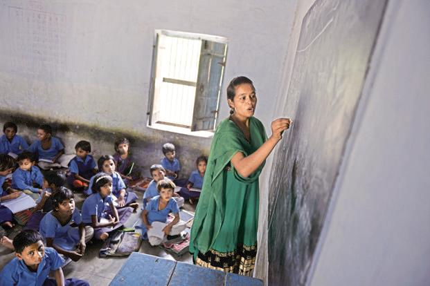 File photo. Schools as fundamental social institutions, present in every village and small town, can systematically play a role in developing this collective spirit and strength. Photo: Priyanka Parashar/Mint