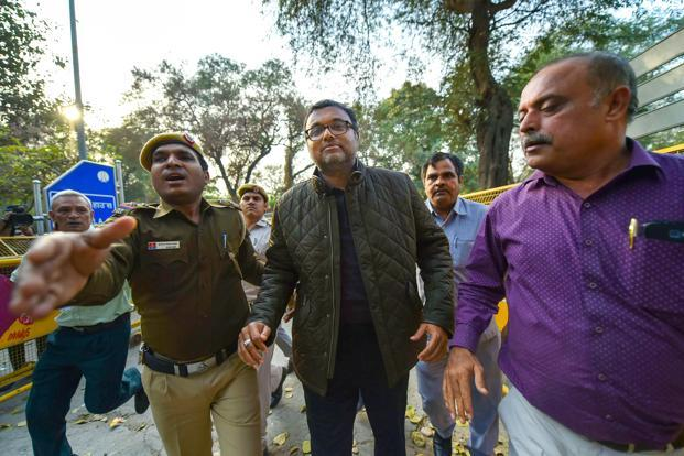 CBI arrests Karti Chidambaram in INX media case