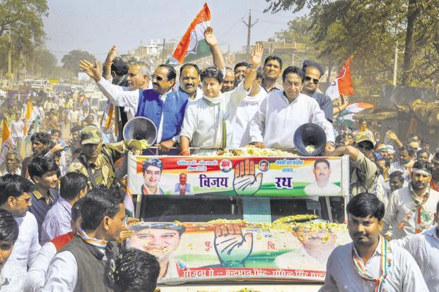 MP bypoll: Congress wins Mungaoli, ahead in Kolaras