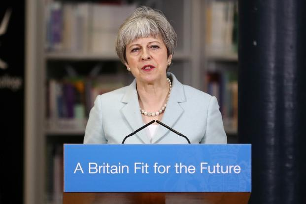 May sets out her Brexit demands