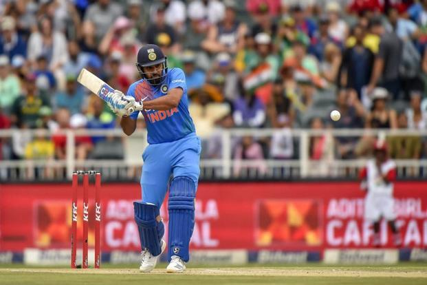 Rohit Sharma had just one knock of significance in the series. Photo: AP