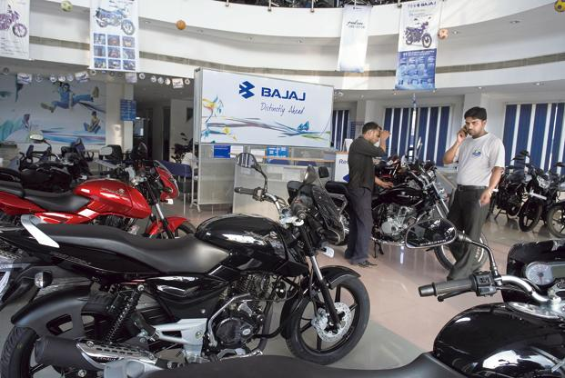 Bajaj weighed in the most on the fall, with a 32.1% slump to 438,395 motorcycles. Photo: Mint