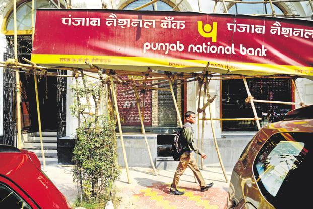 PNB's internal auditor at the Brady House branch, M.K. Sharma, will be produced in a Mumbai court on Thursday. Photo: Abhijit Bhatlekar/Mint