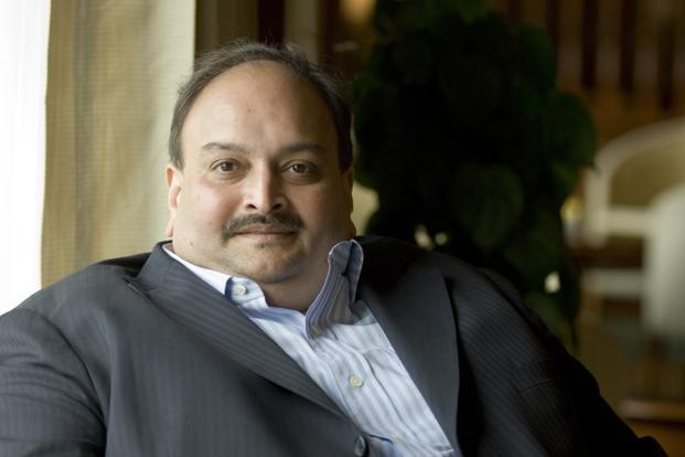 ED attaches Mehul Choksi's assets of Rs. 1217 cr