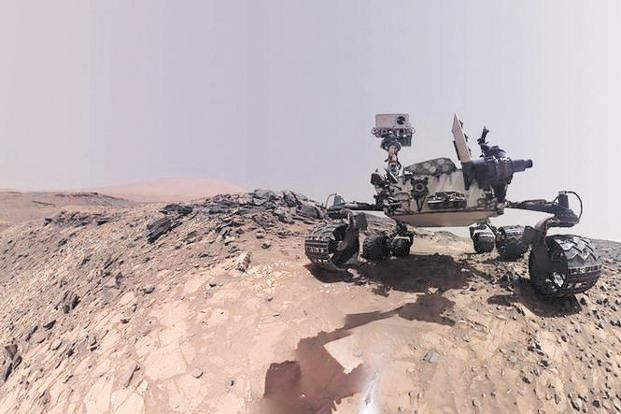 Nasa's Curiosity rover has used its drill to collect samples 15 times since landing in 2012 on Mars. Photo: Reuters