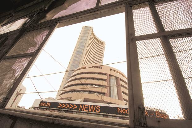 BSE Sensex ended at 34,046.94 points, down 137.10 points or 0.40% from the previous day's close, while the NSE's broader Nifty index lost 34.50 points or 0.33%, to end at 10,458.35 points. Photo: Mint