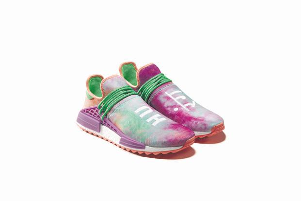 Shoes from Adidas's Holi collection.