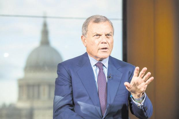 Martin Sorrell, chief executive of WPP. The firm reported a 'slow start' to 2018 and a no-growth outlook for the year on the back of a tough 2017 where revenue and profit margins were also flat. Photo: Bloomberg