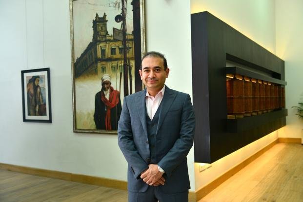 Nirav Modi's Firestar Diamond filed for bankruptcy protection on 26 February in the United States. Photo: Mint