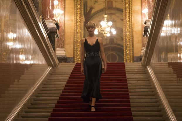 Jennifer Lawrence in a still from 'Red Sparrow'.
