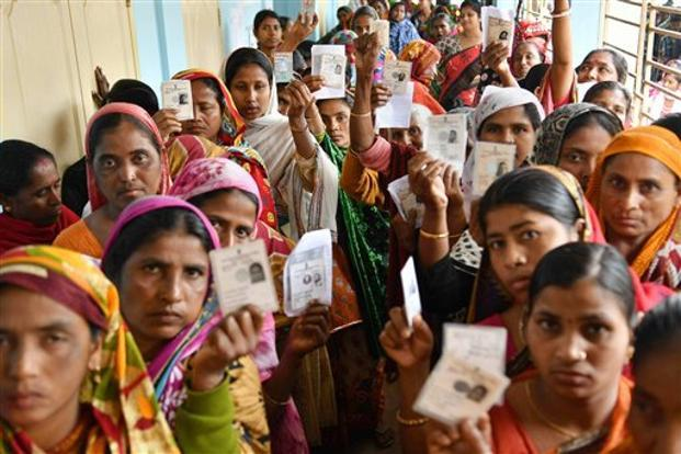 The BJP has dethroned the 25-year-old Left Front government in Tripura. Photo: PTI