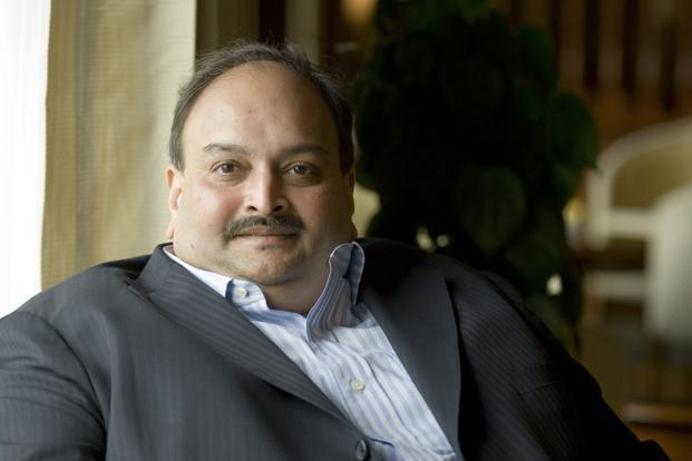 A file photo of Mehul Choksi. On the NSE, the Gitanjali Gems stock fell to a 52-week low of Rs19.25. Photo: Priyanka Parashar/Mint
