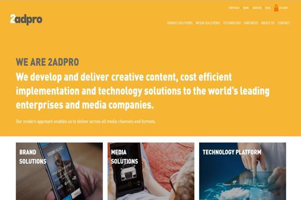 Founded in 2006, Ad2Pro is an advertising solutions company that develops creative strategy and content for media and retail customers mainly in the US, UK, Australia and New Zealand.