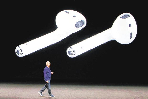 So far, the wireless AirPods have been a key driver of newfound success for Apple's 'Other Products' segment. Photo: Bloomberg