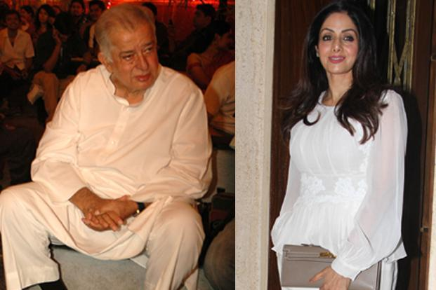 Shashi Kapoor and Sridevi featured in the In Memoriam section at the 90th Academy Awards.