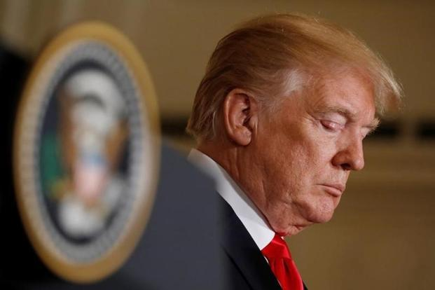 US President Donald Trump. Analysts fear a full-blown trade war between the United States and Europe could cut growth in Germany, the biggest EU economy, by up to 1 percentage point. Photo: Reuters