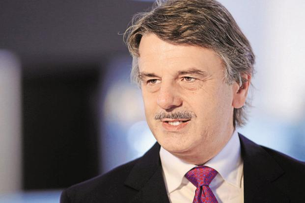 A file photo of Jaguar Land Rover CEO Ralf Speth. Photo: Bloomberg