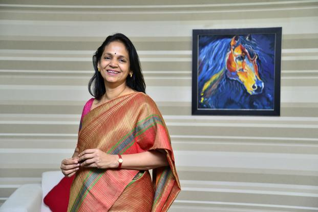 R. M. Vishakha, MD and CEO, IndiaFirst Life Insurance. Photo: Aniruddha Chowdhury/Mint