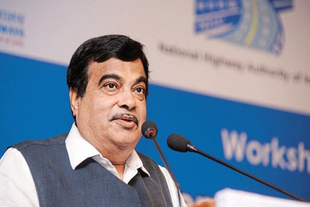 Road minister Nitin Gadkari also launched toll-free number -1033 to enable users to report an emergency. File photo: Mint