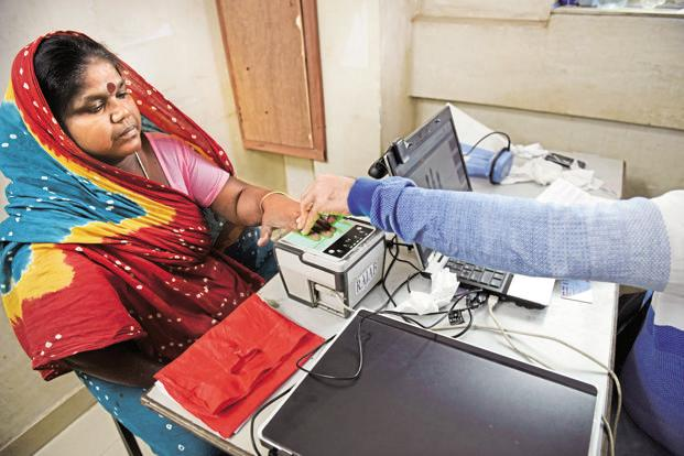 With a biometric verifiable identity and a linked bank account, millions of people eligible for receipt of government services now have a way to access those services digitally. Photo: Indranil Bhoumik/Mint