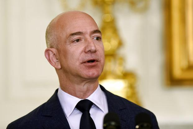 Jeff Bezos, founder and chief executive, Amazon.com Inc is the world's richest man, according to Forbes rich list for 2018. Photo: AP