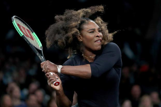 Serena Williams last played at the 2017 Australian Open, which she won and later discovered she did so while being eight weeks pregnant. Photo: AFP