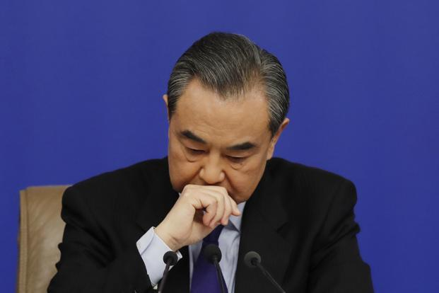Chinese foreign minister Wang Yi issued a word of caution, noting that breakthroughs on the North Korean nuclear issue had collapsed in the past. Photo: AP