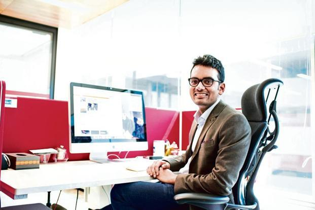 Akshay Kothari uses a height-adjustable desk. Photo: Abhishek B A/Mint