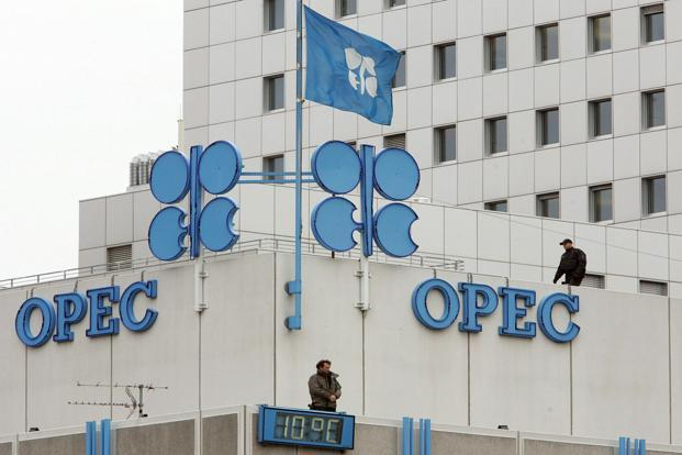 Opec headquarters in Vienna. The International Energy Agency said that Saudi Arabia and Angola's capacity to pump crude will fall more deeply in the next few years than any other members in Opec.