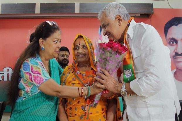 Meena rejoins BJP after 10 years