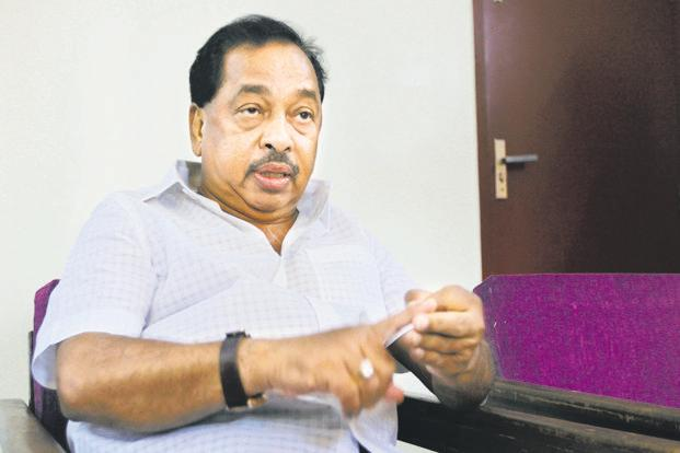 Narayan Rane will file his nomination papers on Monday. Photo: HT
