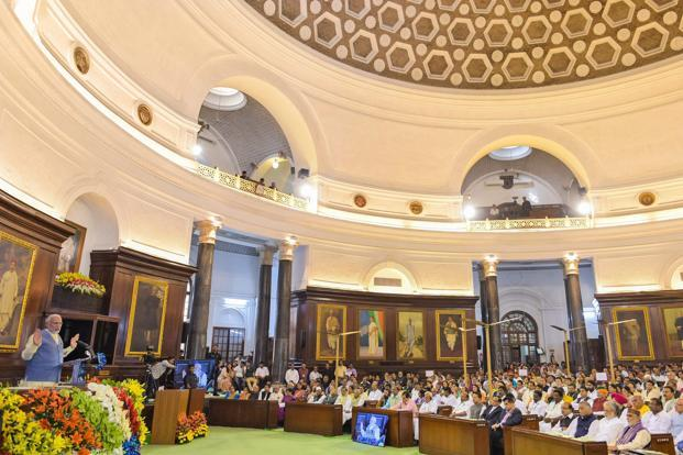 National Legislators Conference: 'We only For Development', PM Modi addressed MPs, MLAs
