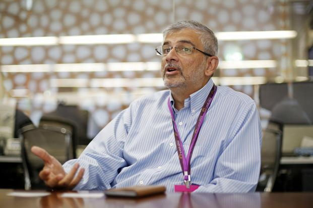 Vistara chief commercial officer Sanjiv Kapoor. Photo: Bloomberg