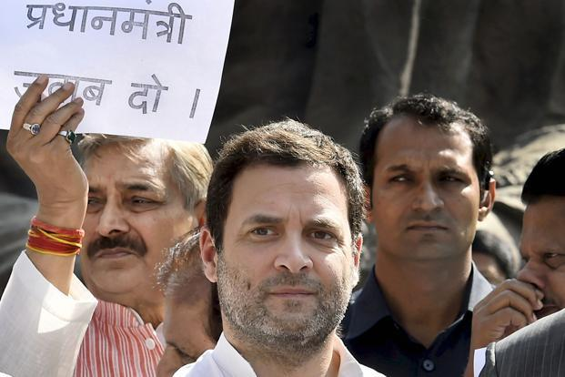 Congress president Rahul Gandhi has to guard against Prime Minister Narendra Modi creating a pro-poor wave in favour of the BJP in 2019 Lok Sabha elections. Photo: PTI