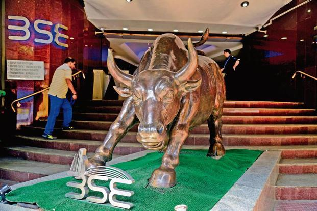 Sensex trades 300 points higher; Nifty above 10300-level
