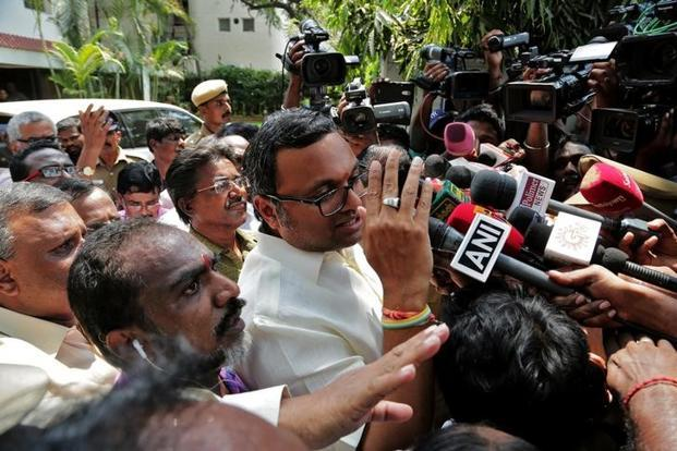 Trial court sends Karti Chidambaram to Tihar Jail for 12 Days