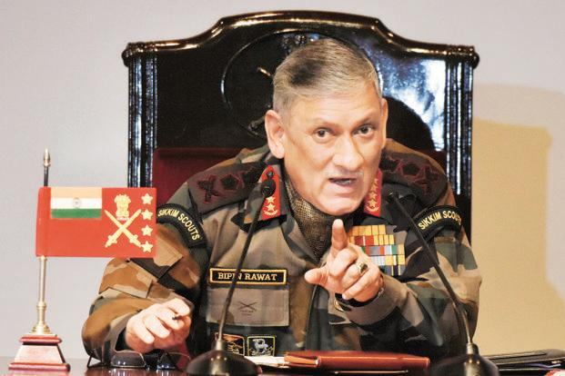 The border meetings between the armies of India and China that had stopped due to Doklam standoff have started again,says army chief Bipin Rawat Photo: HT