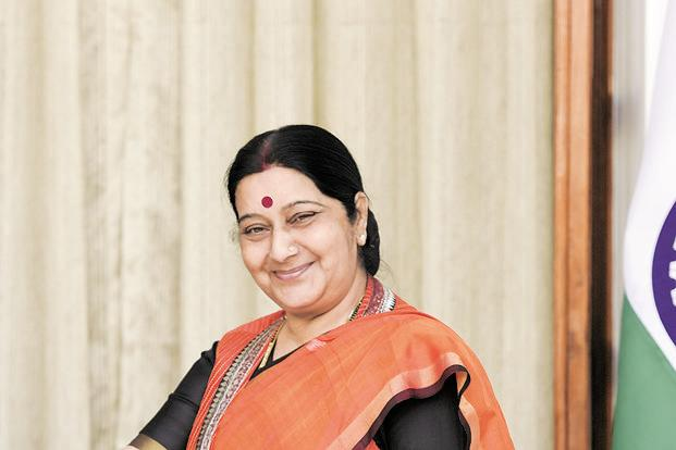 Sushma Swaraj's China visit for the Shanghai Cooperation Organization foreign ministers' meeting is expected to take place on 23-24 April, a government official said on Tuesday. Photo: HT