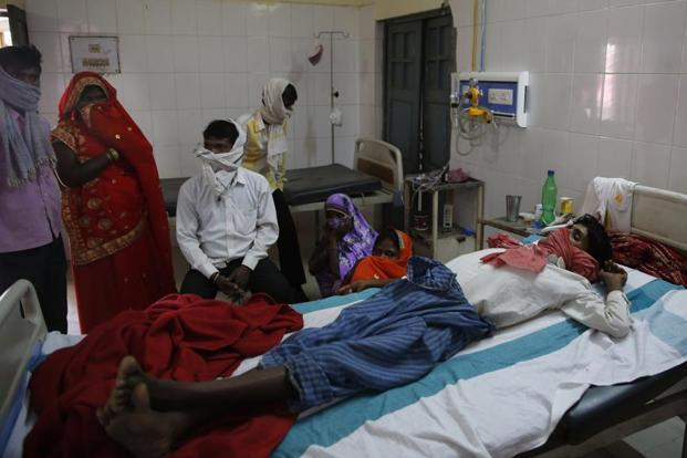 According to the Global TB Report 2017 released by WHO, India has the highest number of TB cases in the world. Photo: AP