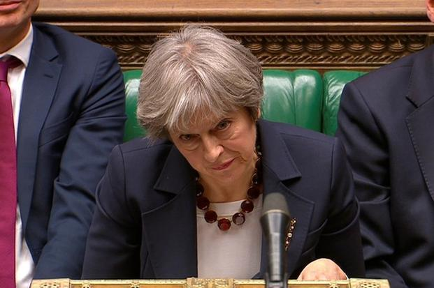 Theresa May said the UK will move to freeze Russian state assets where necessary. Photo: Reuters