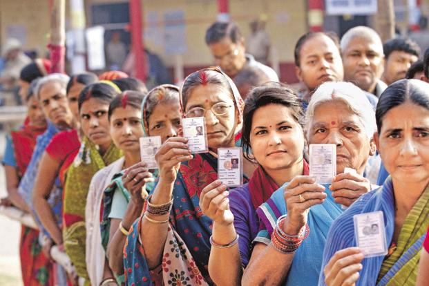 The voter turnout was 47.45% in Gorakhpur and 37.39% in Phulpur in Sunday's Lok Sabha elections polling. Photo: HT