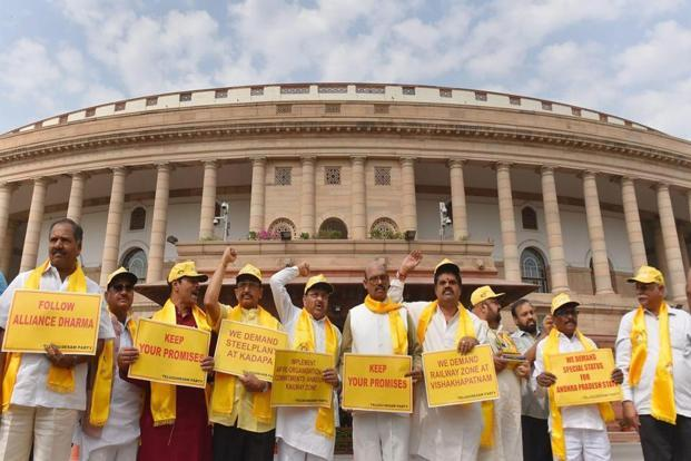 YSR Congress to move no-confidence motion against Modi govt, TDP may support