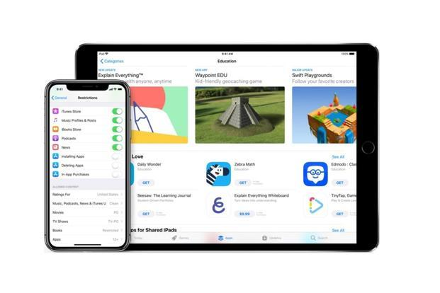 Apple Families page also talks about browser specific tools which restricts access to all websites except those approved by the parent or which carries explicit content.