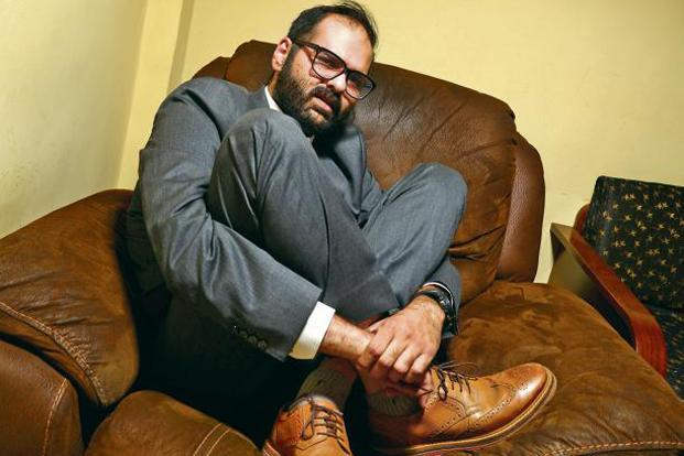 Kunal Kamra at his home in Mumbai. Photo: Abhijit Bhatlekar/Mint