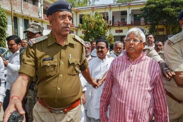 Lalu Prasad convicted in 4th fodder scam case, Mishra acquitted