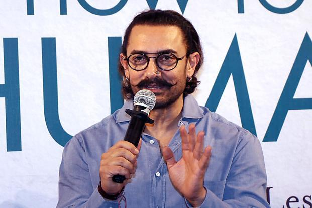 According to celebrity managers, Aamir Khan charges approximately Rs4 crore per day of shooting taking his annual brand endorsement fee to Rs12-15 crore. File photo: AFP